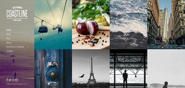 Coastline WordPress Theme – Portfolio WordPress Theme