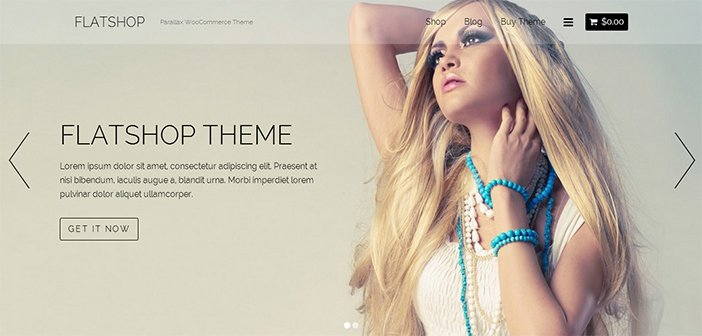 Flatshop WordPress Theme – Ecommerce Theme
