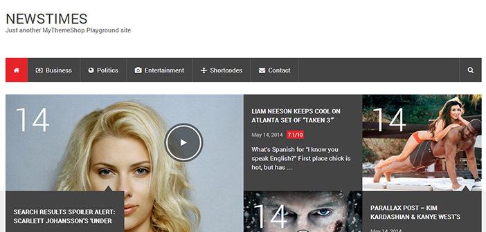 NewsTimes WordPress Theme – Magazine WordPress Theme