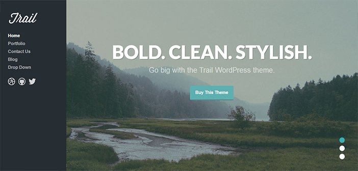 Trail WordPress Theme – Portfolio Theme