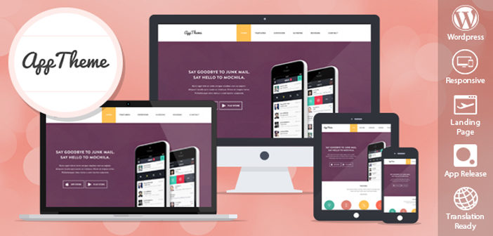 AppTheme – A Multipurpose Corporate WordPress Theme