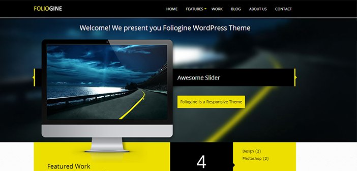 Foliogine PRO WordPress Theme – Portfolio WordPress Theme