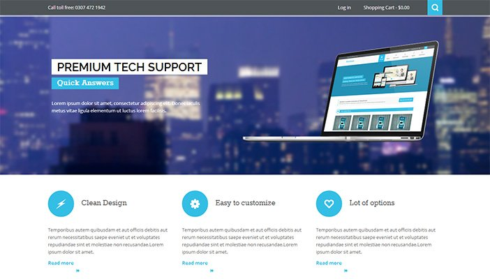 Nictitate WordPress Theme
