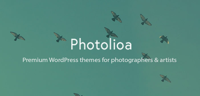 Photolioa : Best Photographers & Artists WordPress Themes Shop
