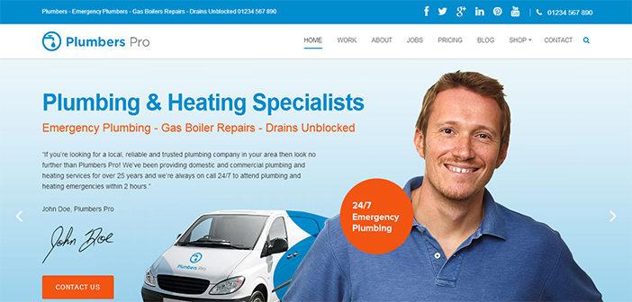 Plumbers Pro WordPress Theme – Business WordPress Theme