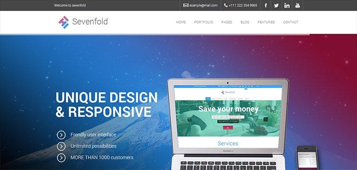 Sevenfold WordPress Theme – Multipurpose WordPress Theme