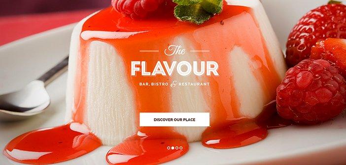 The Flavour WordPress Theme – Restaurant WordPress Theme