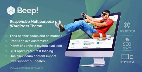 Beep WordPress Theme