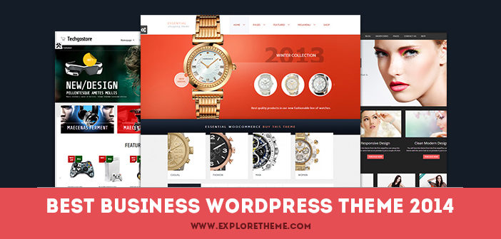 20 Best Business WordPress Themes – August 2014