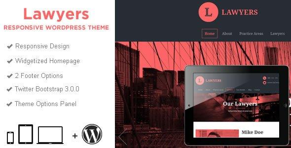 Lawyers Business WordPress Theme