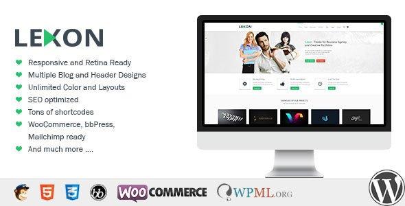 Lexon WordPress Theme