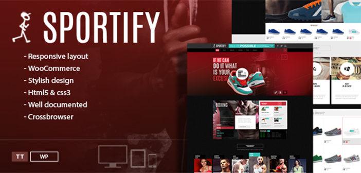 Sportify WordPress Theme – Gym/Fitness WordPress Theme