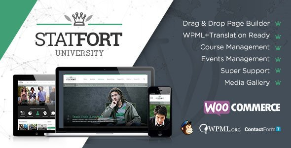 Statfort WordPress Theme