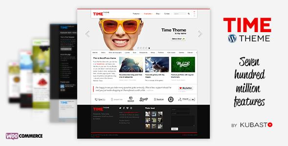 Time WordPress Theme Download