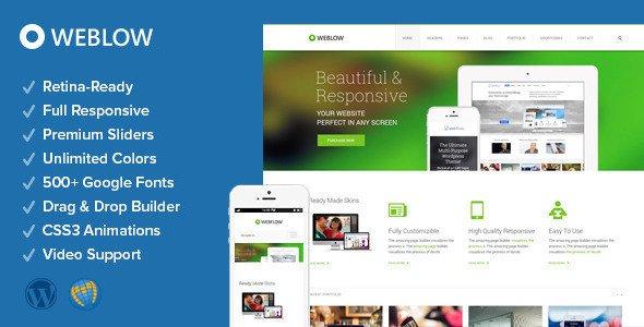 Weblow WordPress Theme Download