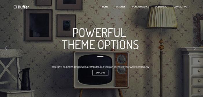 Buffer – A Multipurpose Business WordPress Theme