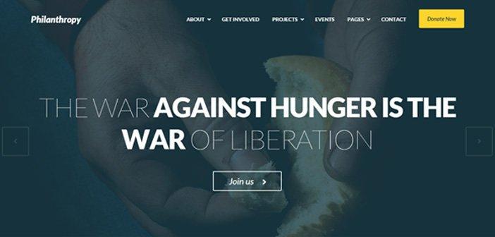 Philanthropy – A Professional Nonprofit WordPress Theme