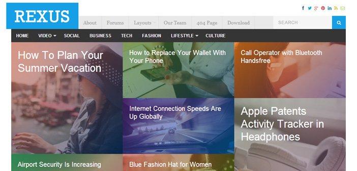 Rexus WordPress Theme – Magazine WordPress Theme