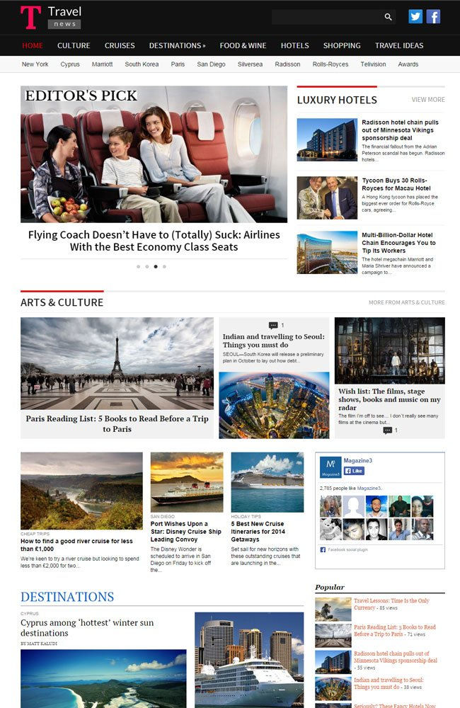 Travel-News-WordPress-Theme
