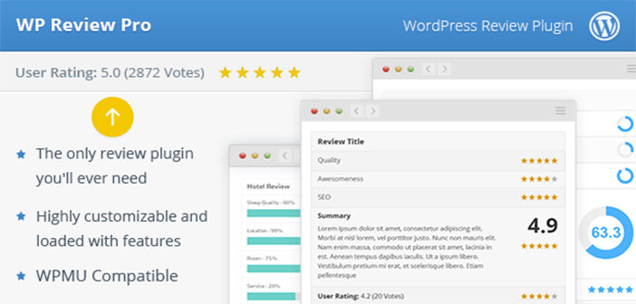 WP Review Pro Plugin – Creating A WordPress Review Websites