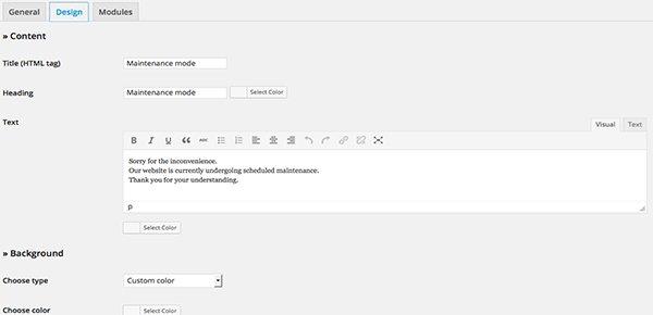 WordPress-Site-in-Maintenance-Mode-Design