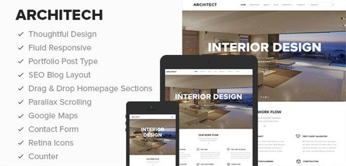 Architect – A Clean & Beautiful Business WordPress Theme