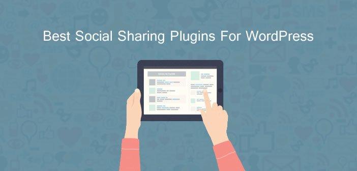 Best Social Sharing Plugins For WordPress