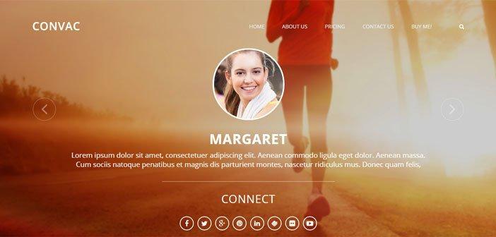 Convac – A Elegant Multi Author Blogging WordPress Theme