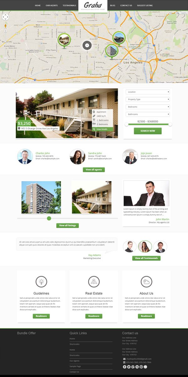 Graha WordPress Theme