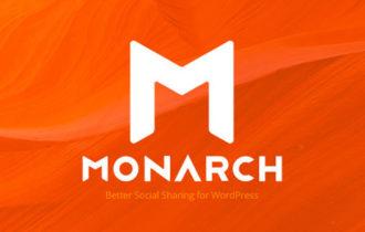 Monarch – A Smart Social Sharing Plugin For WordPress
