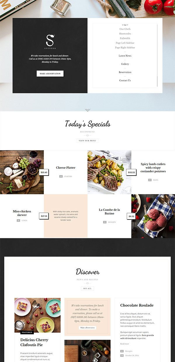 Spooner WordPress Theme