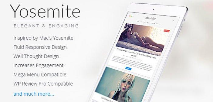 Yosemite – A Beautiful Blogging WordPress Theme