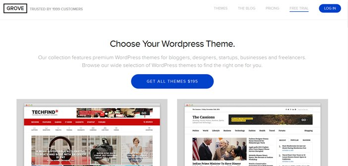 Best News / Magazine WordPress Theme From Grovepixels