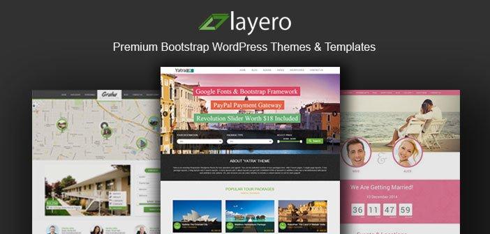 Layero – Premium Bootstrap WordPress Themes