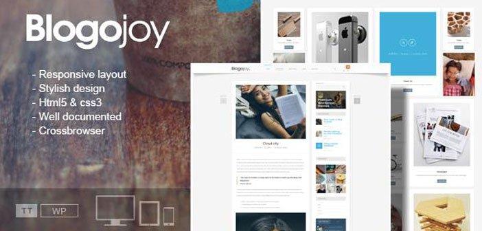 Blogojoy – A Minimalist Blog WordPress Theme