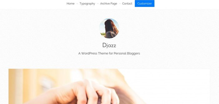 Djazz – A Genesis Child Theme for Personal Bloggers