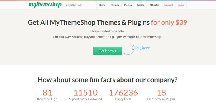 Get All MyThemeShop Themes & Plugins for only $39