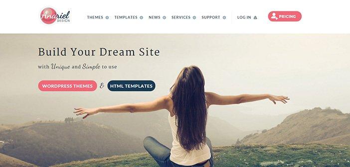 Best Premium WordPress Themes From Anariel Design