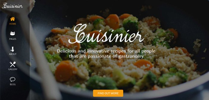 Cuisinier – A Modern Food Blog WordPress Theme