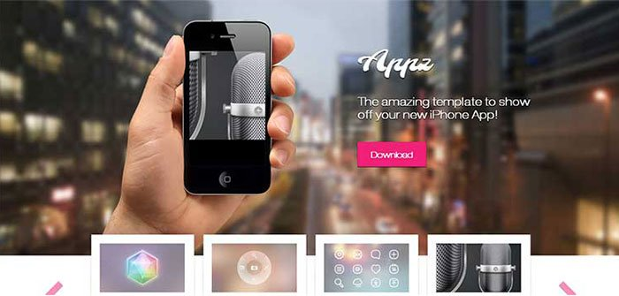 Appz App WordPress Theme