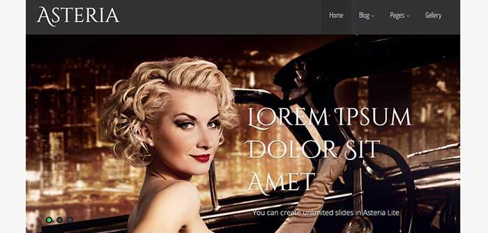 Asteria Lite - Free WordPress theme