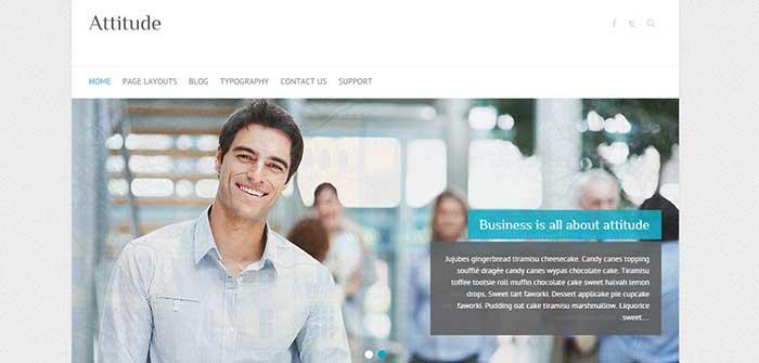 Attitude - Retina Ready WordPress Theme