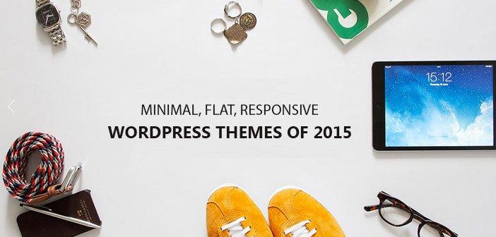 40 Best Minimalist WordPress Themes of 2015