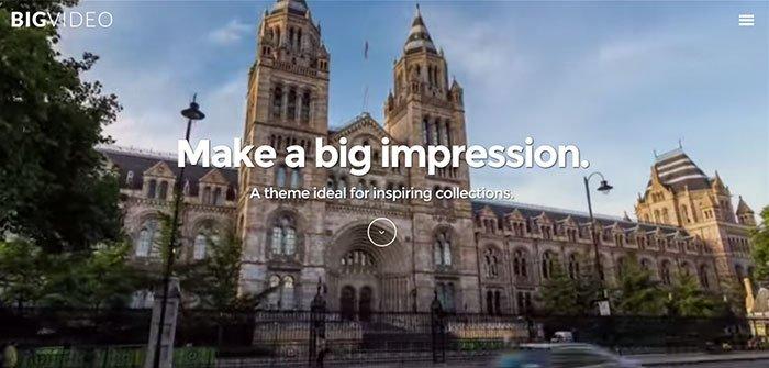 Big Video - Video WordPress Theme