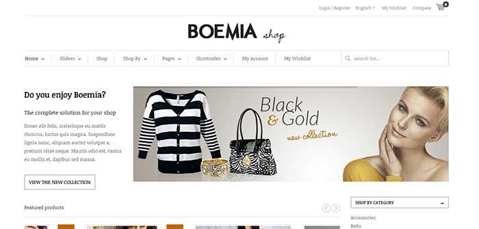 Boemia - Best eCommerce WordPress Theme