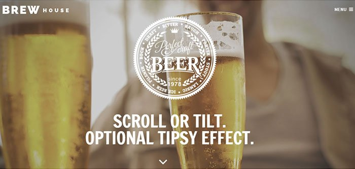 Brew House - Stylish WordPress Theme