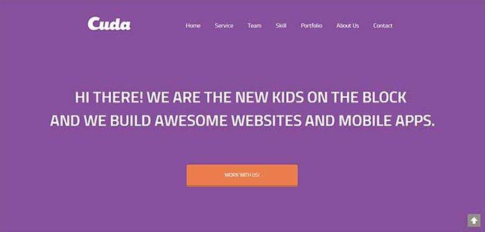 Cuda WordPress Theme