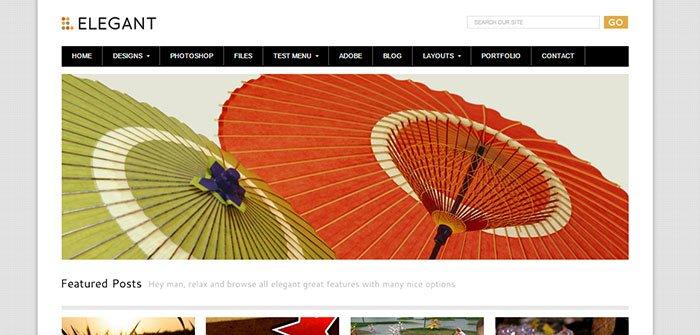 Elegant - Blog WordPress Theme