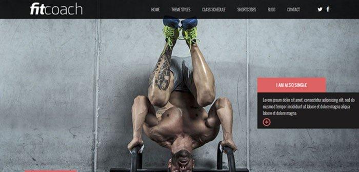 Fit-Coach - Fitness WordPress Theme