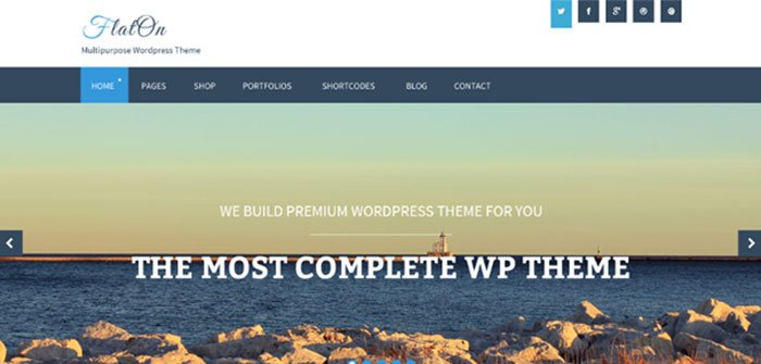 Flaton WordPress Theme